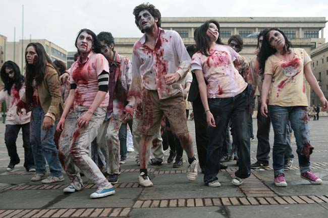 zombie invasion It also has one for a zombie apocalypse  defense officials stress the report in  no way signals an invasion of zombies is on the horizon.